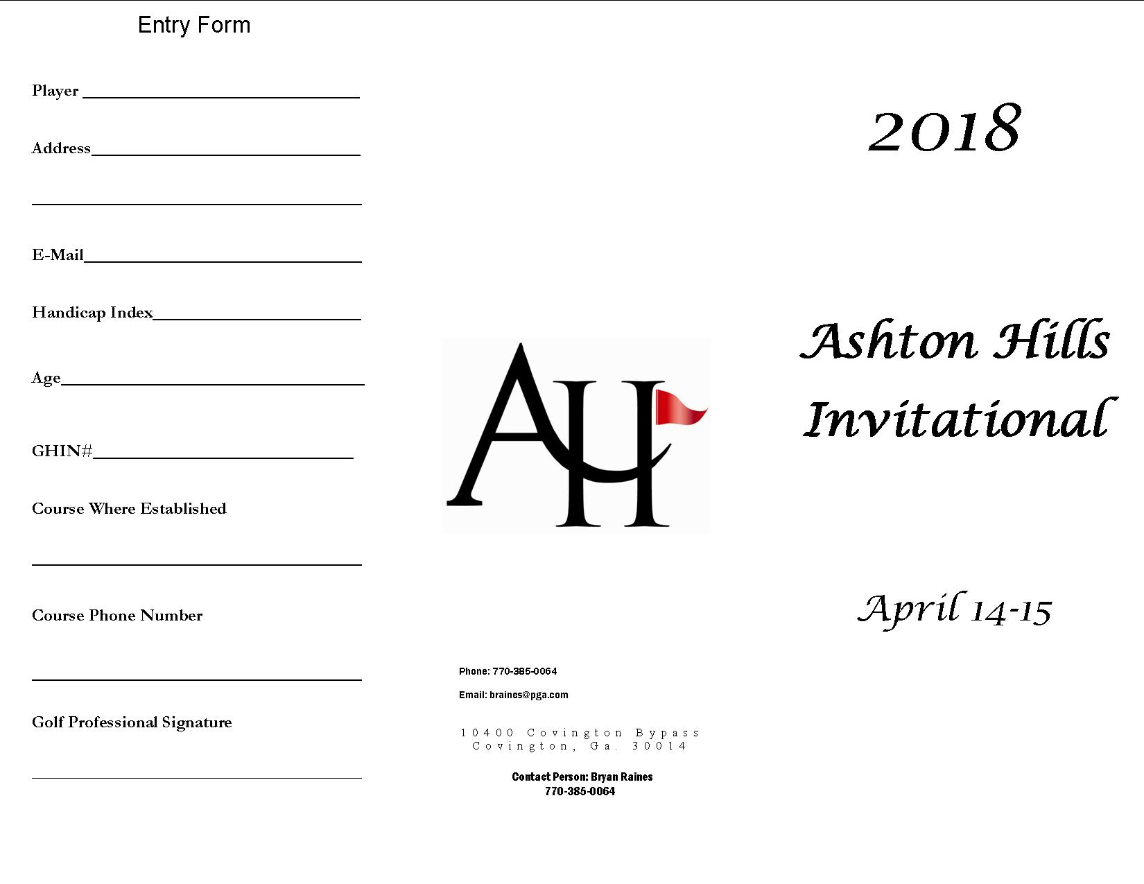2018 AH Invitational 2 1